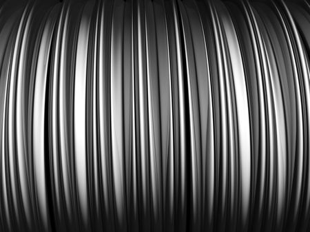 Abstract aluminum stripe pattern background 3d illustration illustration