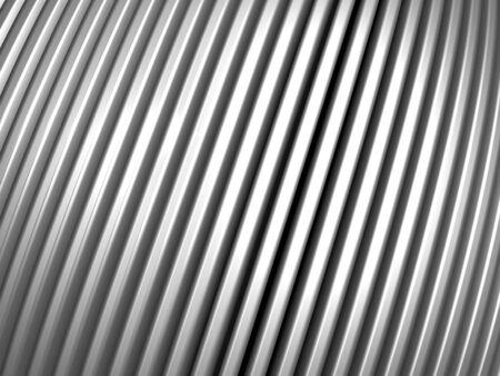 Aluminum silver pattern background 3d illustration Stock Illustration - 7922681