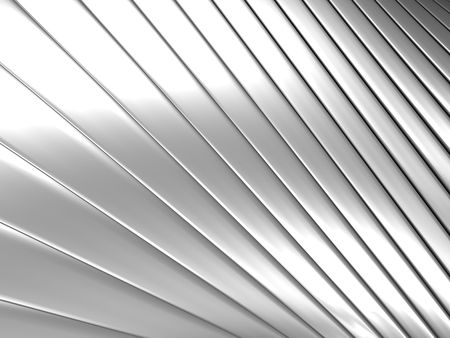Aluminum abstract silver pattern background 3d illustration Stock Illustration - 7922679