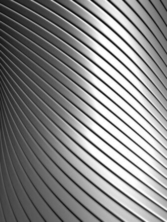Aluminum abstract silver pattern background 3d illustration Stock Illustration - 7922690