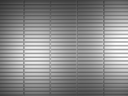 reiteration: Silver metal pattern background texture 3d illustration Stock Photo