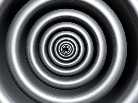 Silver swirl abstract background 3d illustration illustration