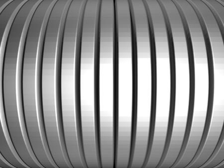 Aluminum silver stripe pattern background 3d illustration Stock Illustration - 9297171