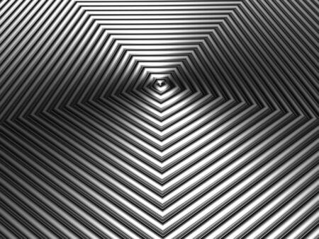 Silver metallic crown shape pattern background 3d illustration  illustration