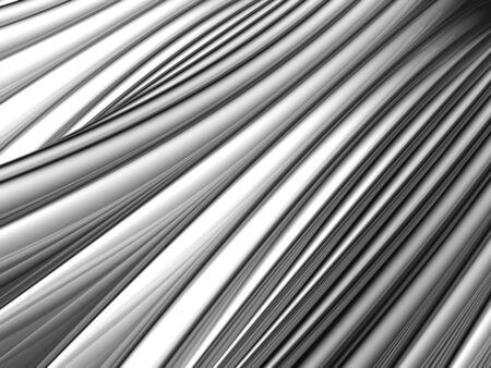 Abstract silver aluminium stripe background 3d illustration Stock Illustration - 9501638