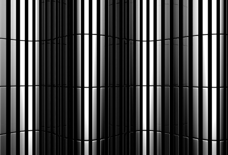 Aluminum abstract silver straight stripe pattern background 3d illustration illustration