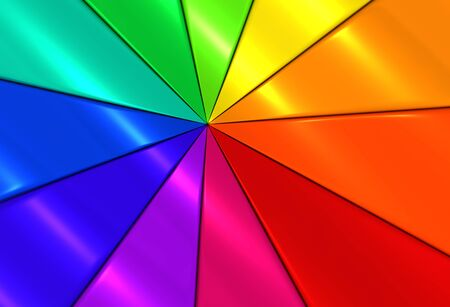 comtemporary: Colorful triangle background 3d illustration Stock Photo