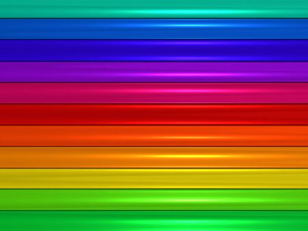 metalic: Colorful metalic stripe background 3d illustration