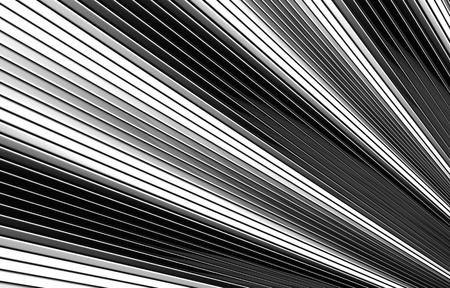 Wave shape silver metal background 3d illustration illustration