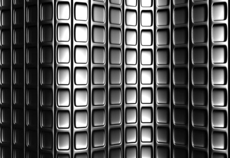 Abstract silver square pattern 3d background photo
