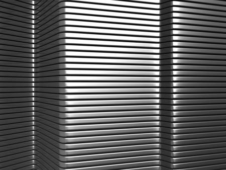 aluminium  design: Silver aluminium stripe pattern 3d background