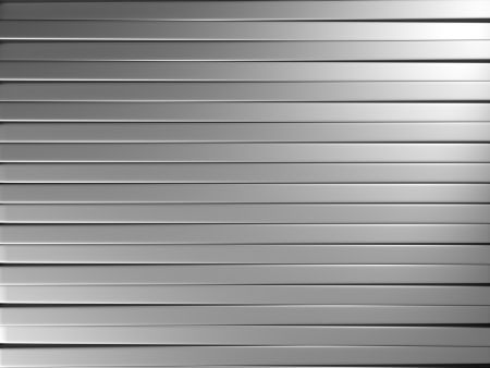 aluminum texture: Aluminum stripe pattern background 3d illustration