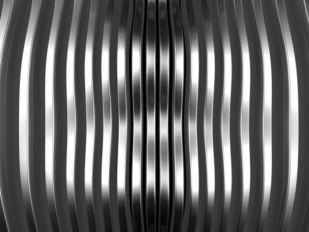 Silver stripe shining abstract background 3d illustration Stock Illustration - 18538485