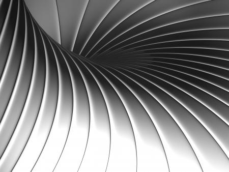 standard steel: Abstract shape metal background 3d illustration