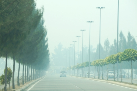 pollutant: The state Malacca recorded the worst air pollutant index of open fire burning monsoon season in Sumatra Editorial