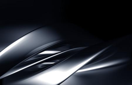 cromo: Abstracto de fondo de lujo 3d ilustraci�n