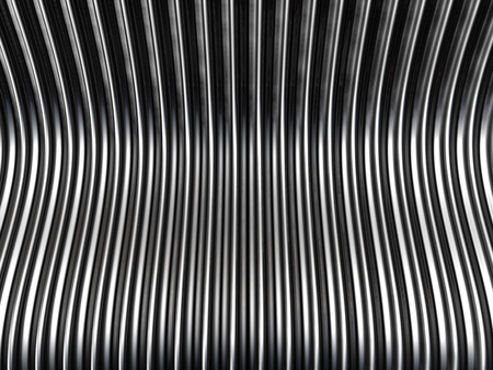 standard steel: Silver metal background 3d illustration Stock Photo