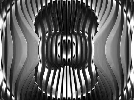 standard steel: Abstract silver metal art background 3d illustration