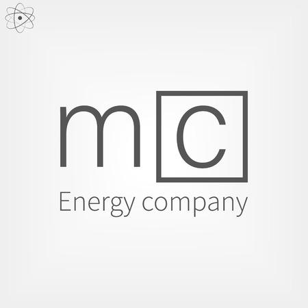 Logo letter MC
