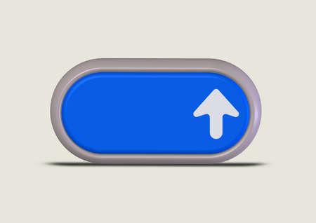 Web icons blue Stock Photo