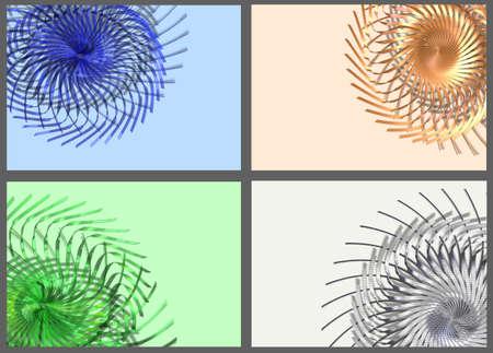 rotating: Abstract background rotating angle set