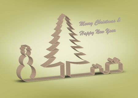 Christmas and New Year wishes photo