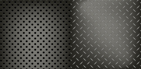 Metal dynamic pattern background vector Stock Vector - 21233997
