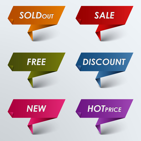 atypical: Paper colored pointer sale discount vector