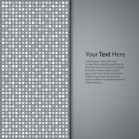 Abstract gray square background vector eps 10