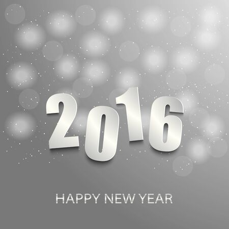 atypical: New Year card with abstract circles background vector eps 10