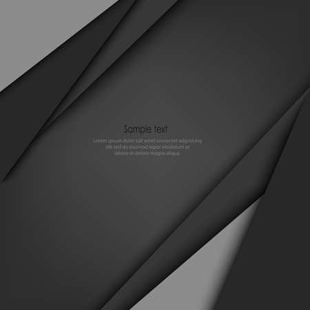 Abstract background with gray design triangles vector eps 10