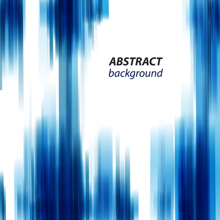 Abstract background with blue white design stripes vector eps 10