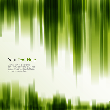Abstract background with transparent strips in green design vector eps 10 Illustration