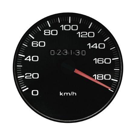 exceeding: Speedmeter del veh�culo superior a la velocidad en una autopista