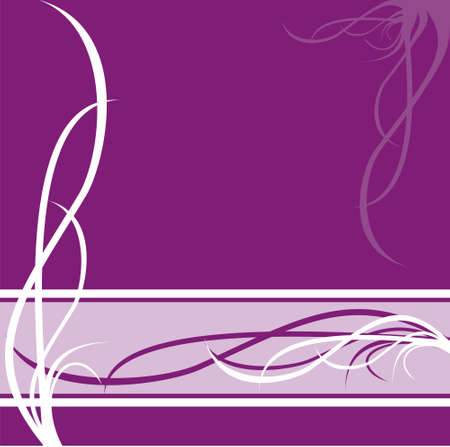 violet red: The image of the pattern drawn in white and pink tones on faintly violet background