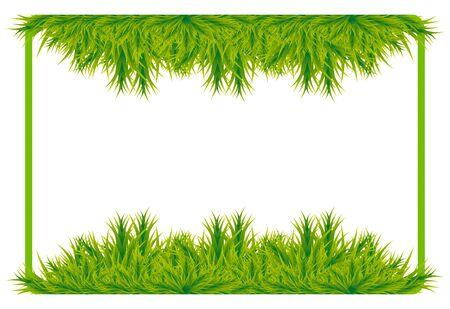 green vegetation: Framework with use of realistic green vegetation