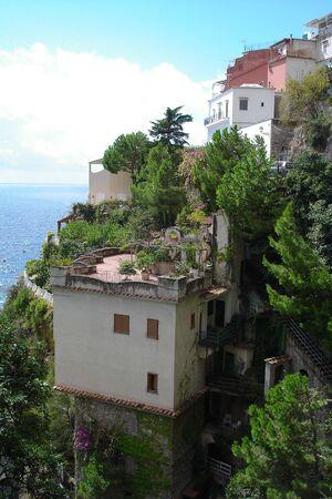 Positano, colourfull town at the Italian Amalfi coast. Stock Photo - 5163445