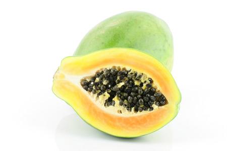 Reife Saftige Papaya