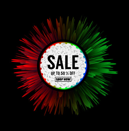 Creative sale banner or poster for independence day of india.