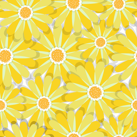 Abstract elegance seamless pattern with floral background Vectores