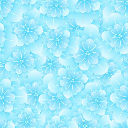 Beautiful seamless floral pattern. Flower vector illustration.