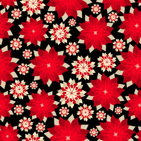 Simple cute pattern in abstract flowers. Ditsy print. Floral seamless background. Fashion prints. Vectores