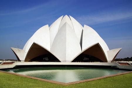 Lotus Temple, New Delhi Stock Photo - 13019900