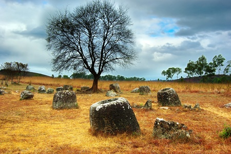 Plain of Jars, Laos photo