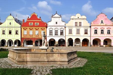 notable: Telc town, Czech Republic