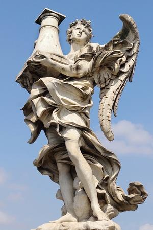 angelo: Ponte Saint Angelo  Rome, italy