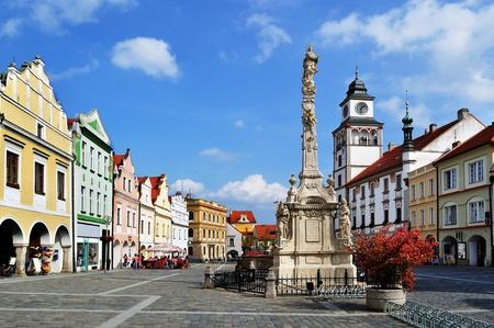 Trebon town, Czech Republic