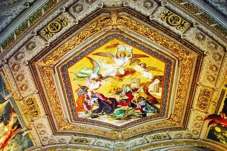 The Frescoes Of The Vatican Museums photo