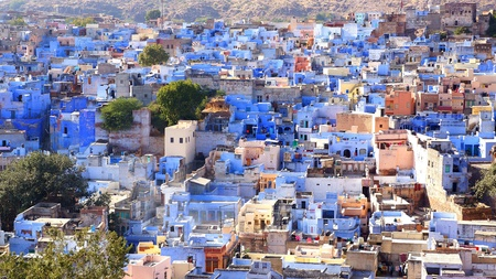 View of Jodhpur-blue city  India