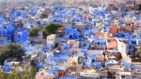 View of Jodhpur-blue city  India